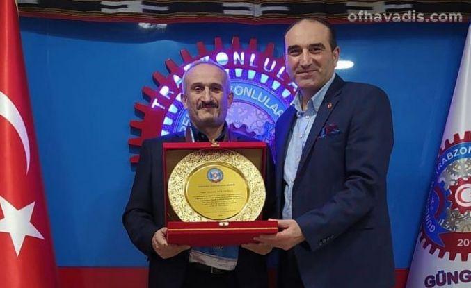 Güngören Trabzonlular Derneği yılın öğretmenini seçti