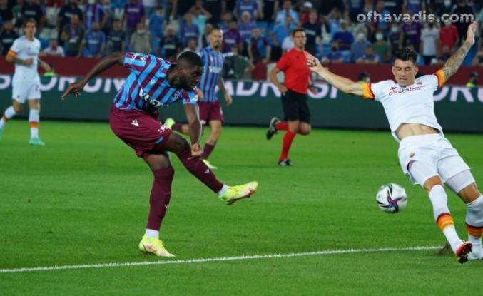 Trabzonspor Roma'ya 2-1 mağlup oldu