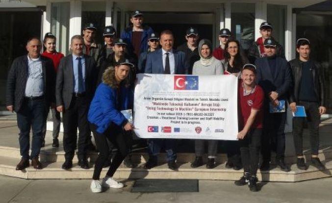 Arsin MTAL Öğrencileri Almanya'da Staj Yapacak