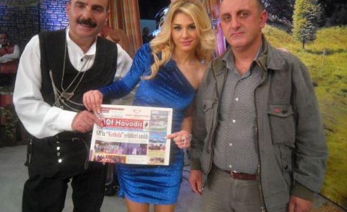 Dursun Dereli Flash TV'de Of Havadis'i tanıttı