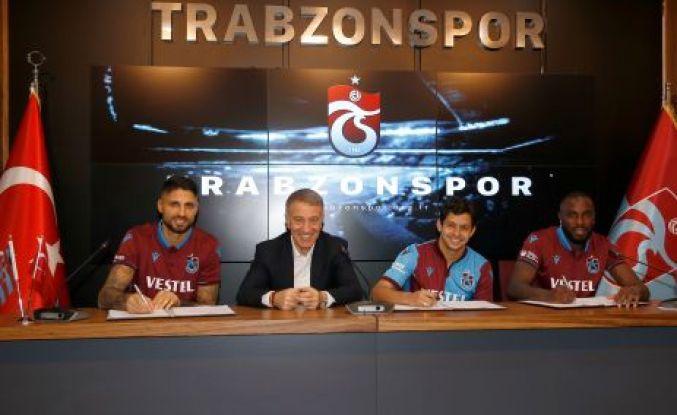 Guilherme, Da Costa ve Messias Trabzonspor'da