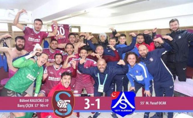 Ofspor Alemdağspor'u 3-1 yendi