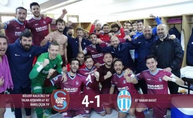 Ofspor Kemerspor'u farklı yendi
