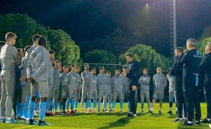 Trabzonspor Antalya'da