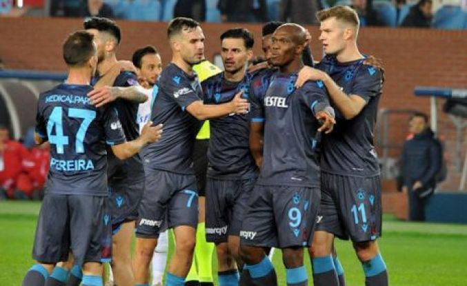 Trabzonspor Kayseri'ye gol yağdırdı