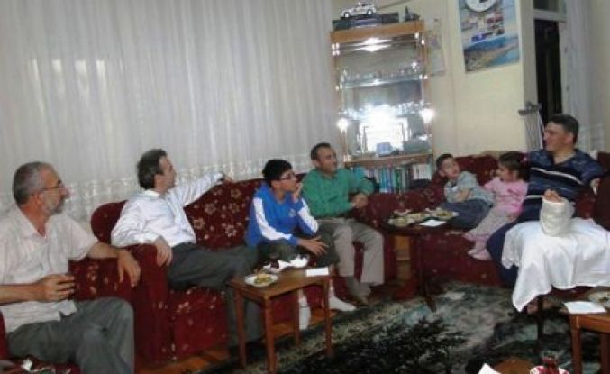Yüksel Yaşar'a ziyaretler devam ediyor