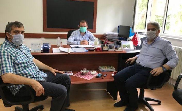 İlçe Tarım ve Orman'ın yeni Müdürü Sedat Saral