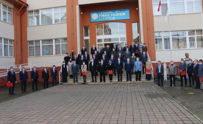 """""""Okulum Temiz"""" projesinde 29 okul ve kuruma belge"""