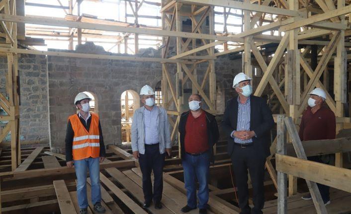 Başkan Sarıalioğlu'ndan Çakıroğlu Konağı'na ziyaret