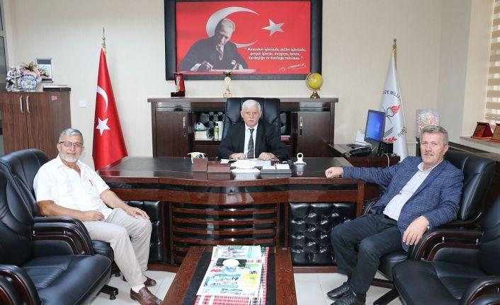 Başkan Çapoğlu'ndan Kabahasanoğluna hayırlı olsun ziyareti