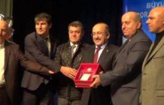 Büyükşehir ve ASKF'den başarılı sporcu ve kulüplere ödül