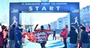 41. Trabzon yarı maratonu sağlıkçılara ithaf edildi
