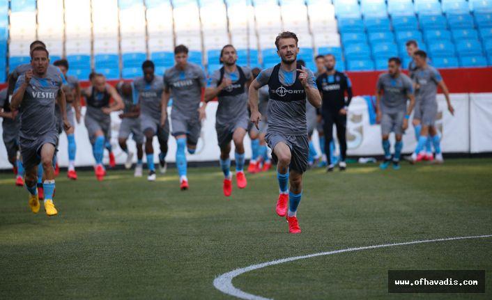 Trabzonspor Göztepe maçına hazırlanıyor