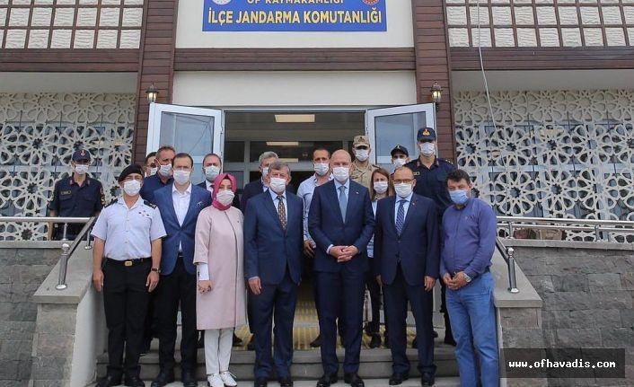 Bakan Soylu Of Jandarma binasını inceledi