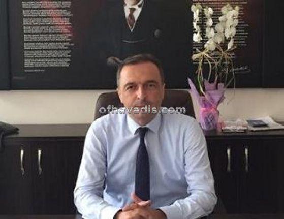 Mustafa Demircioğlu Hayrat İlçe Milli Eğitim Müdürü oldu