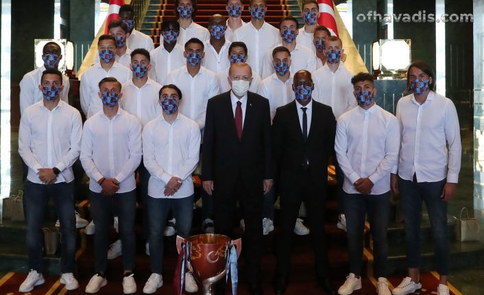 Cumhurbaşkanı Erdoğan Trabzonspor'u ağırladı