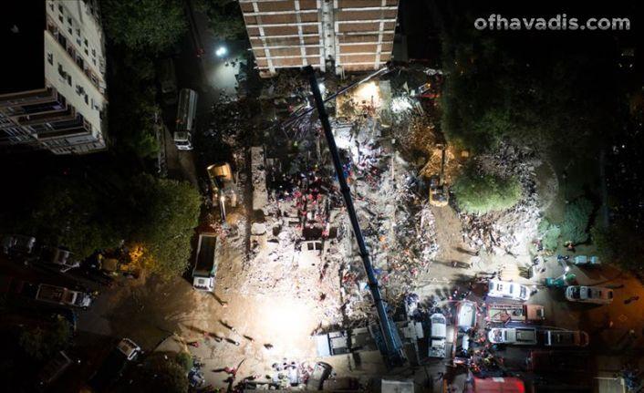 İzmir depreminde vefat sayısı 69 oldu