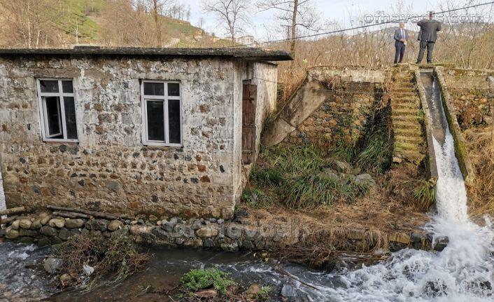 Tarihi Aşağı Kışlacık Kavak Değirmeni suya kavuştu