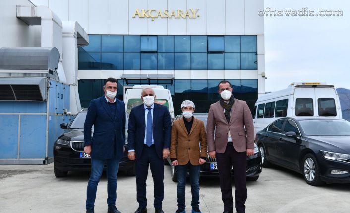 Başkan Zorluoğlu sanayi esnafını ziyaret etti