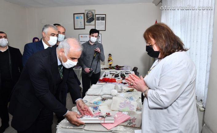 Başkan Zorluoğlu'ndan Kadın Eğitim ve İstihdamı Derneği'ne ziyaret