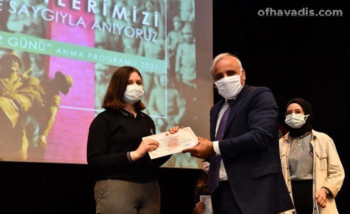 Çanakkale Zaferi ve Şehitleri Trabzon'da anıldı