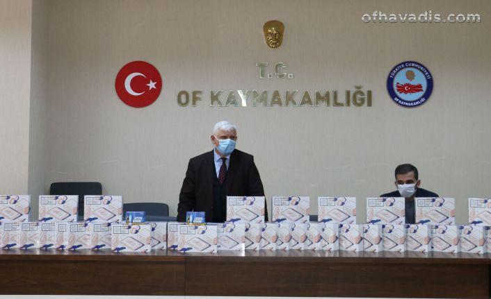 Of Milli Eğitimden Başkan Zorluoğlu'na tablet teşekkürü