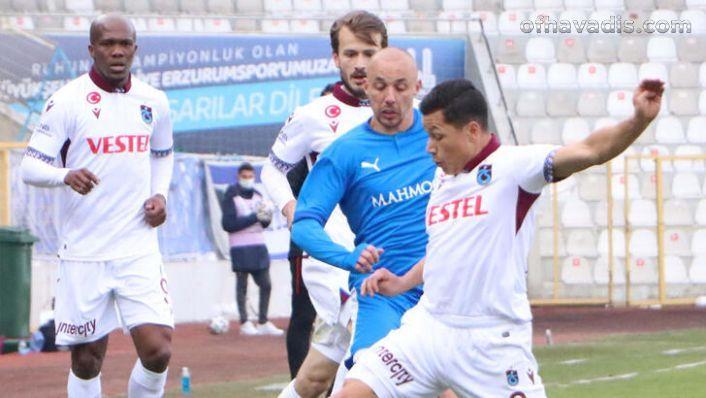 Trabzonspor'la Erzurumspor 1'er puanı paylaştılar