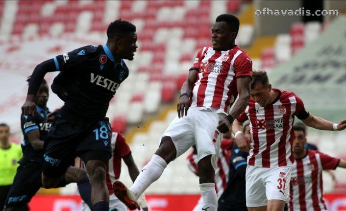 Trabzonspor Sivasspor'u geçemedi