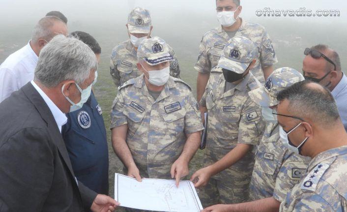 Cos'a hava radar mevzi kuruluyor