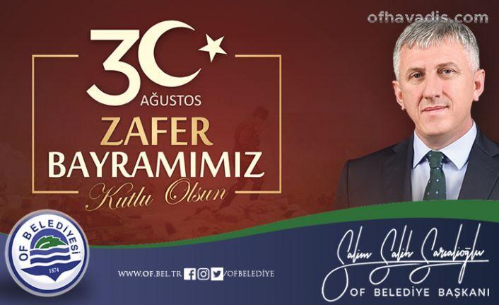Başkan Sarıalioğlu'ndan Zafer Bayramı mesajı