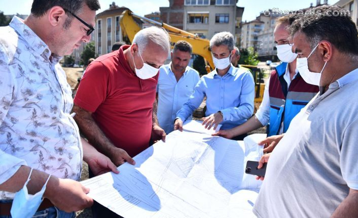Başkan Zorluoğlu çalışmaları yerinde inceledi