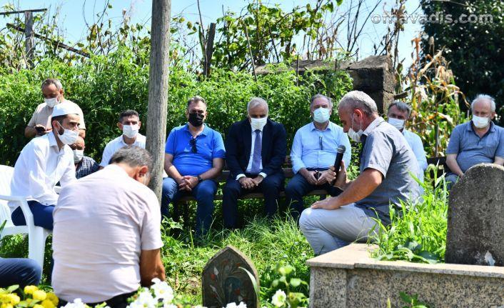 Hüseyin Türker mezarı başında anıldı
