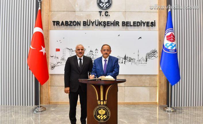 Özhaseki'den Büyükşehir'e ziyaret