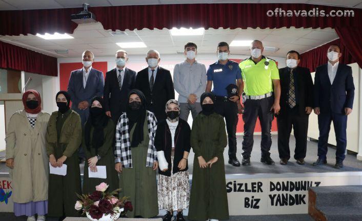 Gaziler Günü Of İmam Hatip Lisesi'nde kutlandı