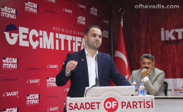Saadet'ten iktidara hazırlık buluşması