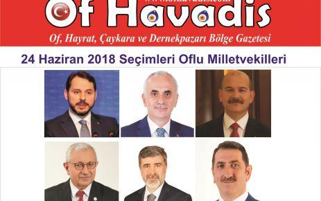24 Haziran'da 6 Oflu milletvekili mecliste