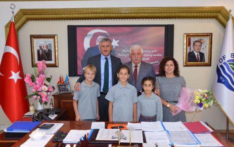28 Şubat Öğrencilerinden Başkan Sarıalioğlu'na ziyaret