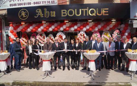 Ahu Boutique hizmete açıldı