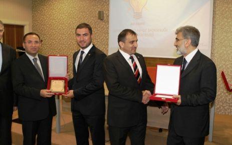 Ak Parti Of Teşkilatı, Siyaset Akademisi Ödüllerini aldı