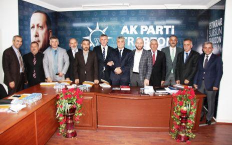 Ak Parti'nin Aday Adayları Günnar'la buluştu