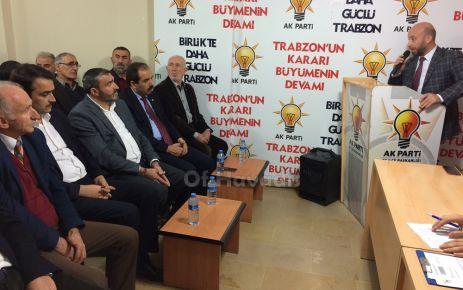 AK Parti'nin Kasım Ayı konuğu Muhammet Balta