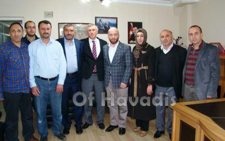 Ak Parti'nin Of Belediye Başkan Adayı Salim Salih Sarıalioğlu oldu