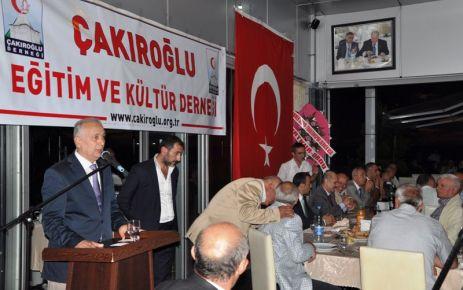 Bakan Bayraktar Çakıroğlu Derneği'nin iftarına katıldı