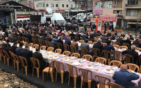 Bakan Soylu Pazarkapı esnafıyla kahvaltıda buluştu