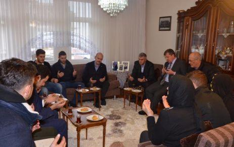 Bakan Soylu'dan Başkan Sarıalioğlu'na taziye ziyareti