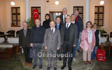 Başkan Gümrükçüoğlu, mimarlarla görüş alışverişinde bulundu