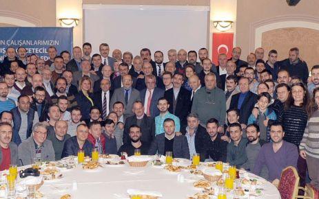 Başkan Gümrükçüoğlu Trabzon basını ile bir araya geldi
