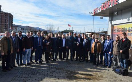 Başkan Sarıalioğlu, basın mensuplarını kahvaltıda ağırladı