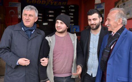 """Başkan Sarıalioğlu, """"Her zaman vatandaşlarımızla iç içeyiz"""