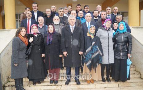 Başkan Sarıalioğlu Okul Aile Birliği Başkanlarıyla buluştu